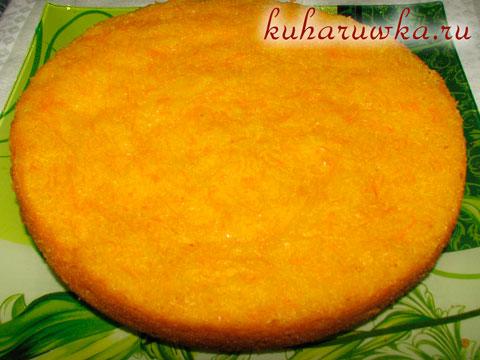 Пирог из моркови рецепт в мультиварке