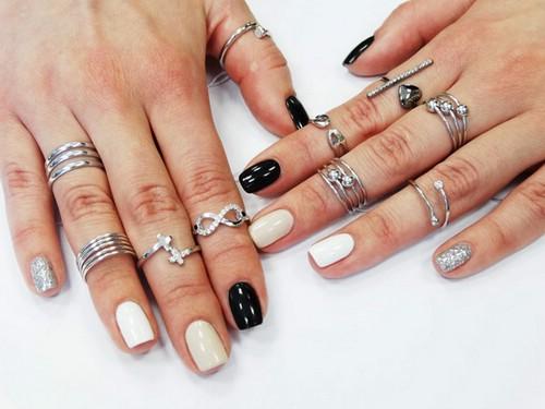 Модные серебряные украшения