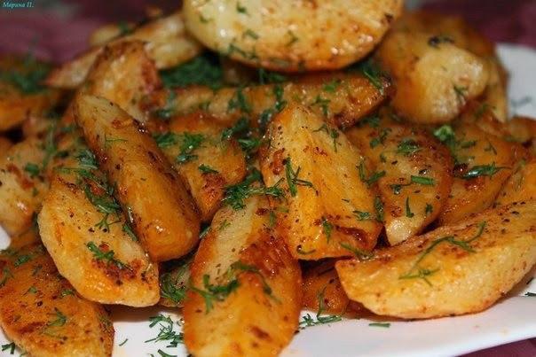 Картошечка по деревенски рецепт