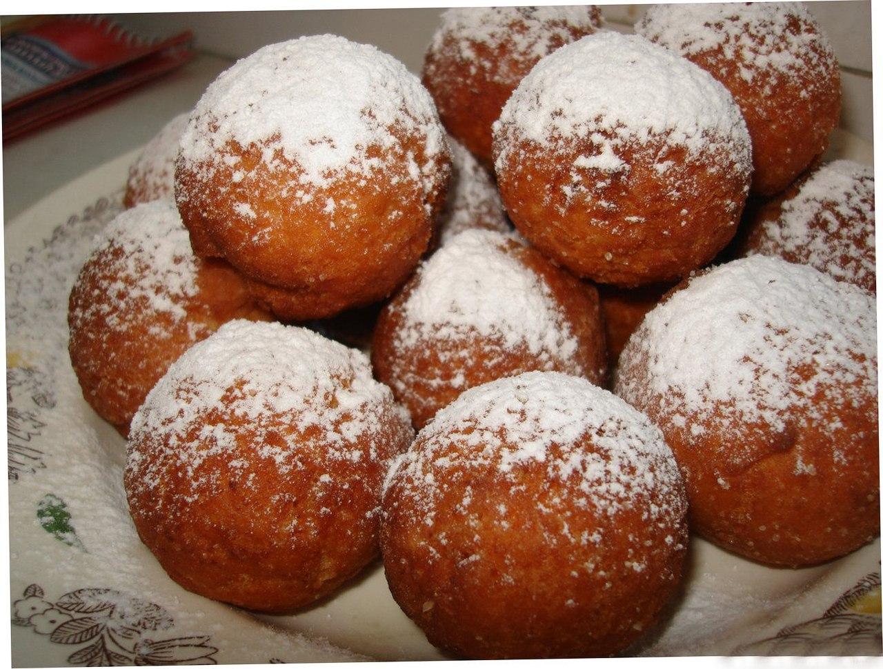 Рецепт пончиков в домашних условиях пошаговый рецепт с фото