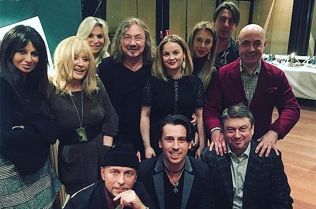Звездные гости на дне рождения Игоря Николаева
