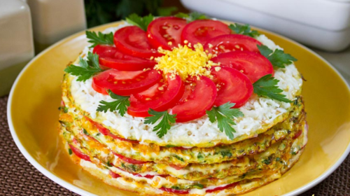 Торт из кабачков - вкусный рецепт