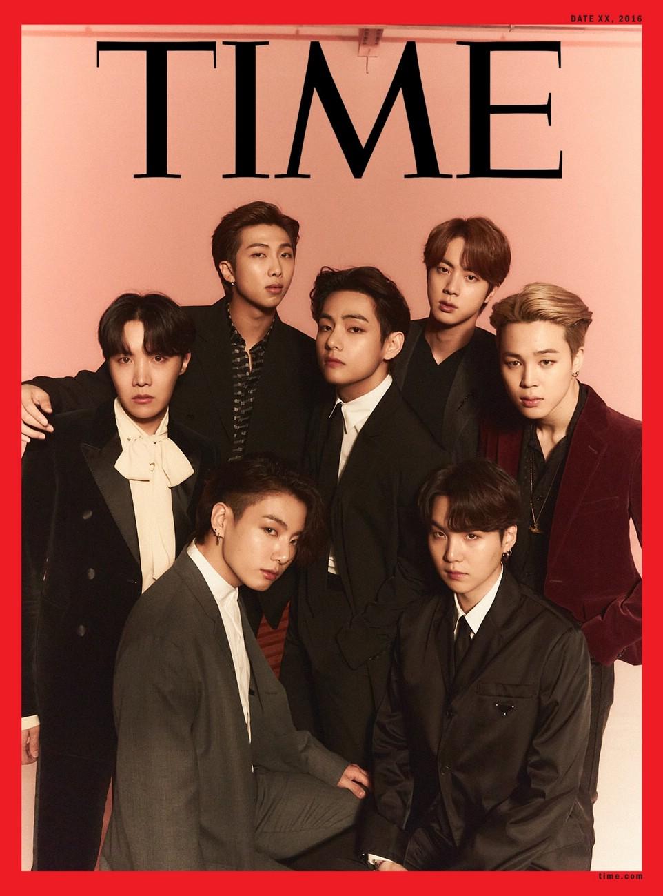 BTS на обложке TIME