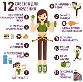 Диетология, правильное питание, меню для похудения