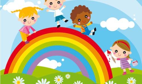 1 Урок ИЗО: Здравствуй, радуга!